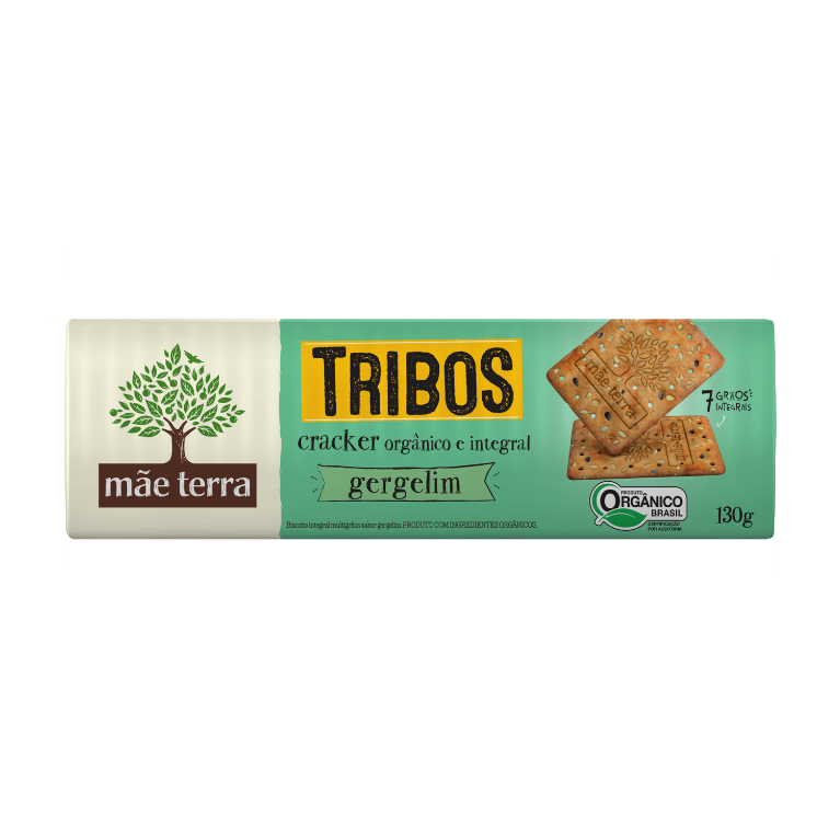 Tribos Cracker Gergelim 130g